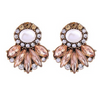Rosegold Statement Earrigns