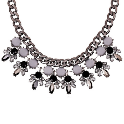 Metallic Statement Necklace