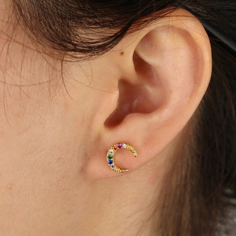 Rainbow Moon MINI Piercing
