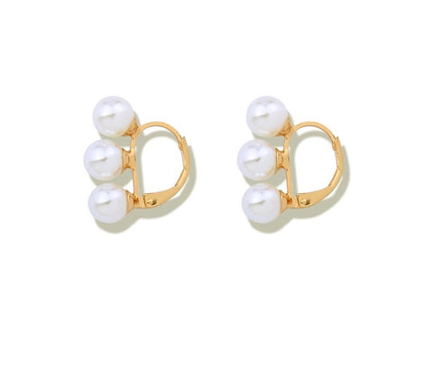 Pearl Mini Hoops