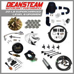 Dean's Team 'Level 6' Yamaha SVHO 20-LB Supercharged Parts Package - Dean's Team Racing / Watercraft Performance