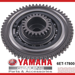 OEM Yamaha SVHO Waverunner Supercharger Clutch Gear Unit Assembly 6ET-17800-00 - Dean's Team Racing / Watercraft Performance