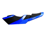 Riva Yamaha FX '12-'18 Seat Cover, Black / Blue - Dean's Team Racing / Watercraft Performance