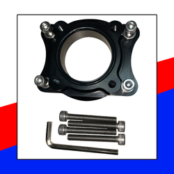 Billet Throttle Body Mount for Yamaha 1.8L WaveRunner - Dean's Team Racing / Watercraft Performance