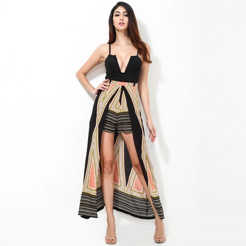 Born This Way Maxi Skirt Playsuit - Fashion Genie Boutique