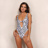 Santa Monica Leopard Print Swimsuit - Fashion Genie Boutique