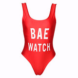 Bae Watch One Piece Swimsuit - Fashion Genie Boutique