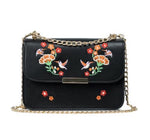 Embroidered Crossbody Handbag - Fashion Genie Boutique