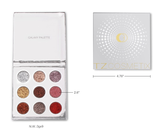 TZ Cosmetics Galaxy Pressed Glitter Eyeshadow Palette - Fashion Genie Boutique