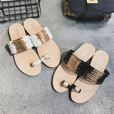 Everyday Diva Gold Sliders - Fashion Genie Boutique