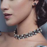 Luxury Crystal Choker Necklace - Fashion Genie Boutique