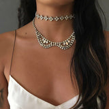 Collar Choker Necklace - Fashion Genie Boutique