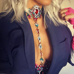Gem Body Statement Necklace - Fashion Genie Boutique