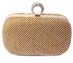 Yvonne Diamond-Studded Clutch Bag - Fashion Genie Boutique