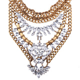 Pendant Chunky Statement Necklace - Fashion Genie Boutique