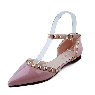 Between Me and You Pink Studded Pumps - Fashion Genie Boutique