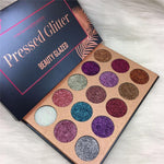 Beauty Glazed 15 Color Pressed Glitter Eyeshadow Palette - Fashion Genie Boutique