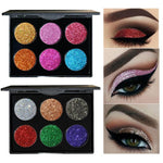 Handaiyan 6 Color Glitter Eyeshadow Palette - Fashion Genie Boutique