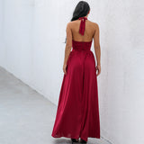 Magic Of Love Burgundy Maxi Dress - Fashion Genie Boutique