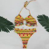 Salvador Multi Bikini Swimsuit - Fashion Genie Boutique
