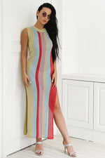 Budding Romance Multi Maxi Dress - Fashion Genie Boutique