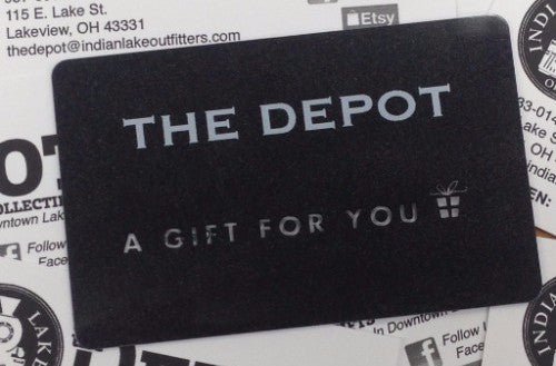 Gift Cards At The Depot