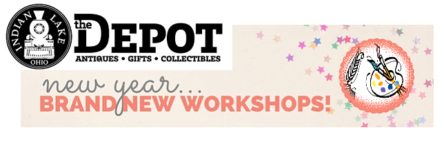 New Year and New Workshops at The Depot
