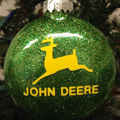 Holiday Christmas Tree Ornament John Deere