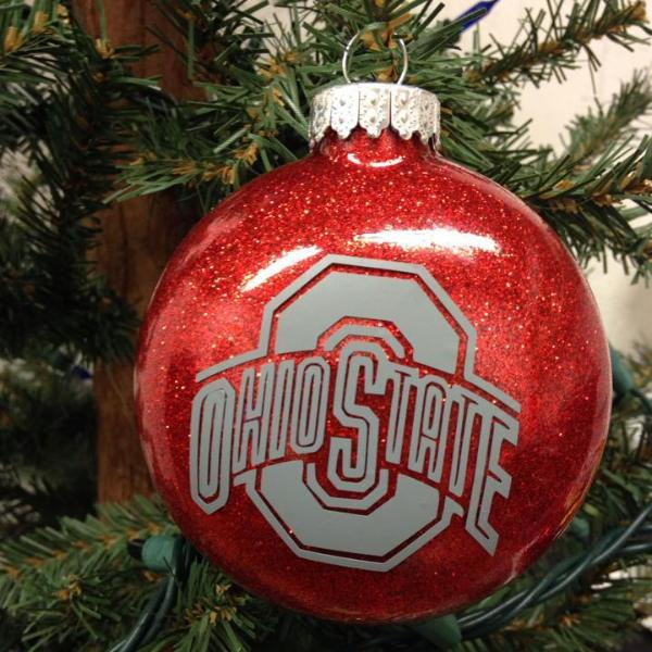 Holiday Christmas Tree Ornament College Football Ohio ...