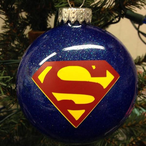 Holiday Christmas Tree Ornament Marvel Comic Superhero Superman