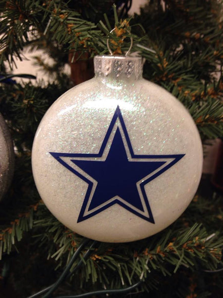 Holiday Christmas Tree Ornament NFL Football Dallas Cowboys