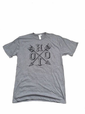 Next Level Graphic Desinger Tee Ohio Arrow Short Sleeve T-Shirt