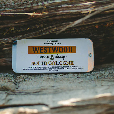 Weatherbeard Solid Cologne Westwood
