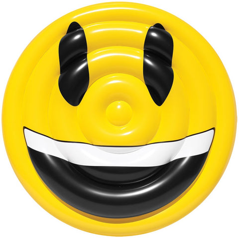 Pool Float Emoji Face Smile Water Toy