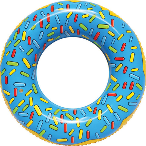 Pool Float Blue Donut Water Toy