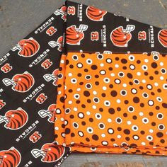 Pillowcase NFL Football Cincinnati Bengals Pillow Case Pair