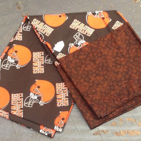 Pillowcase NFL Football Cleveland Browns Pillow Case Pair