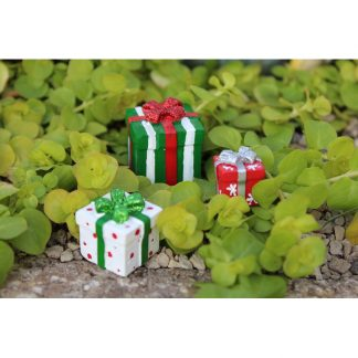 Fairy Garden All Wrapped Up Miniature Packages