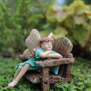 Fairy Garden Fairy Pixie Ashley Statue Miniature