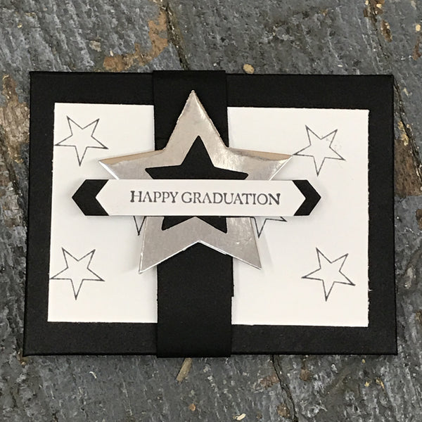 Graduation Gift Card Holder Handmade Stampin Up Greeting Card Envelope