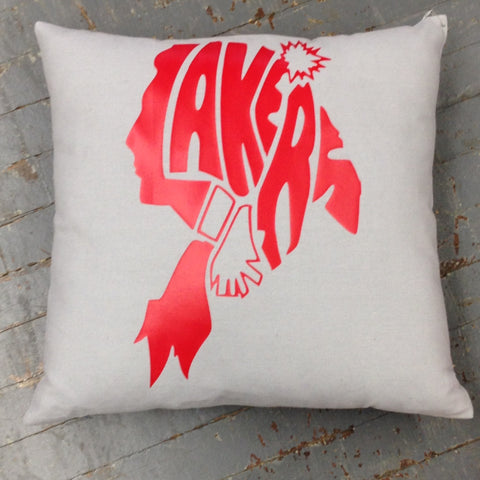 Indian Lake Lakers Throw Pillow