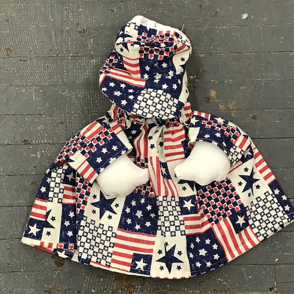 Goose Clothes Complete Holiday Goose Outfit Americana Dress and Hat