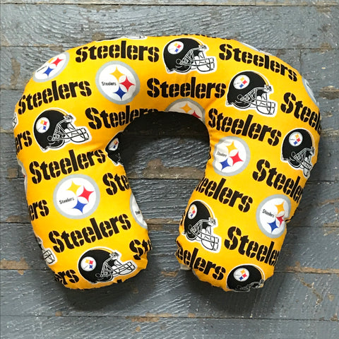 Neck Pillow NFL AFC Football Pittsburgh Steelers Travel Pillow