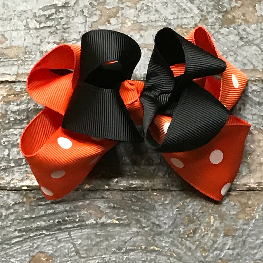 Hair Clip Ribbon Sculpture Headband Bow Holiday Halloween