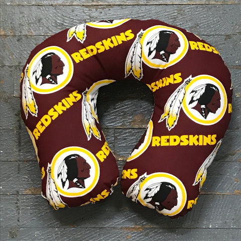 Neck Pillow NFL Football Washington Travel Pillow