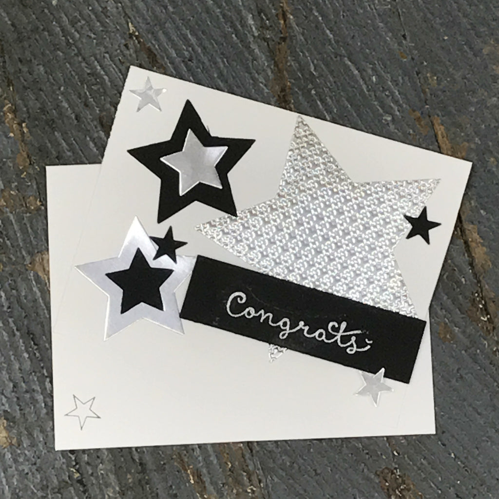 Congratulations Handmade Stampin Up Greeting Card with Envelope