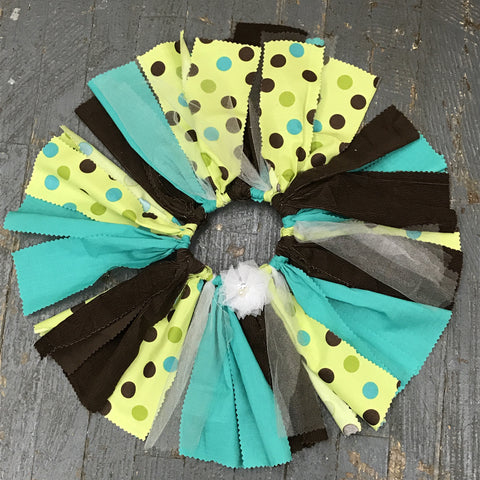 Toddler TuTu Birthday Party Skirt Photography Dress Up Brown Teal