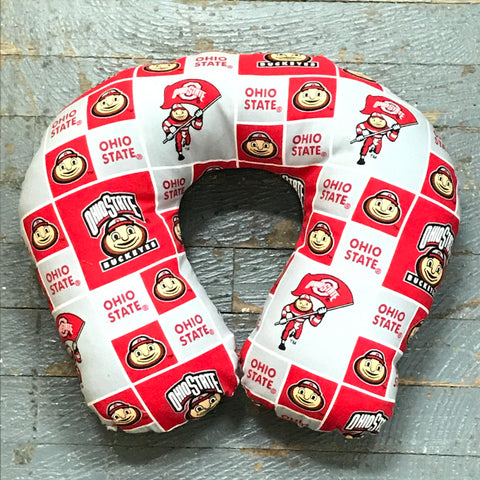 Neck Pillow College Football Ohio State Buckeyes Travel Pillow