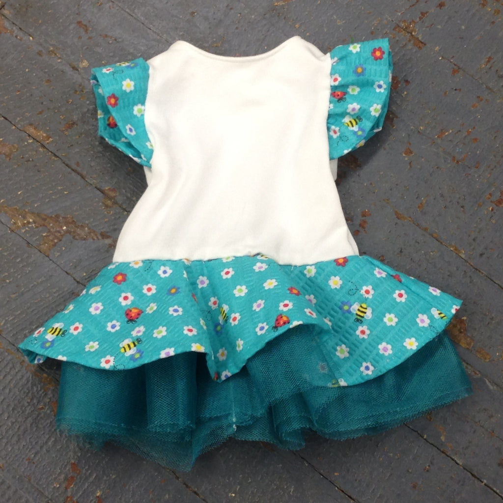 "18"" Doll Clothes Outfit Bright Summer Spring Ladybug Bee Print Dress"