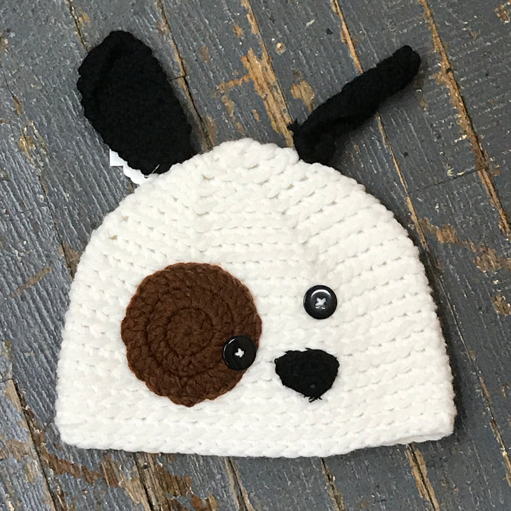 Crocheted Youth Winter Hat Puppy Dog